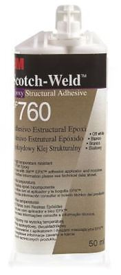3M Scotch-Weld DP760 50 ml White Dual Cartridge Epoxy Adhesive for Various Mater