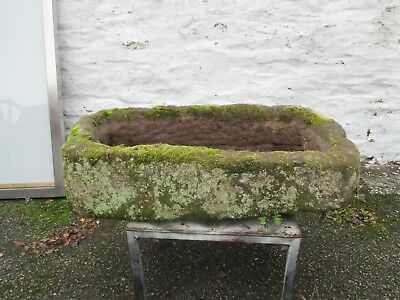 Antique sandstone planter/ trough .
