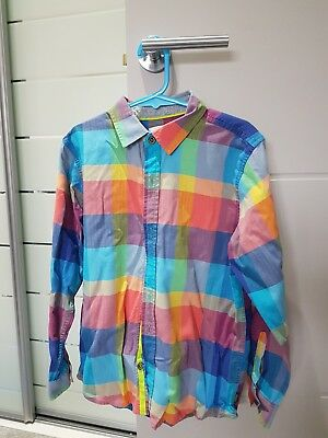 Ted Baker Chequed Shirt Aged 9