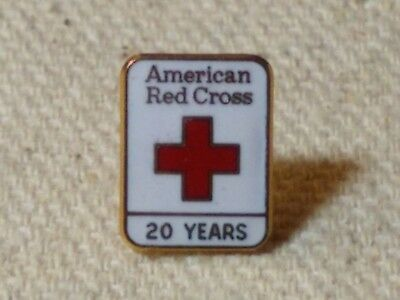 1982, 20 Years of Service pin American Red Cross
