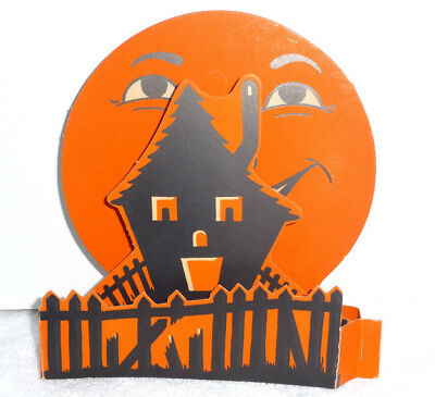 LARGE VINTAGE HALLOWEEN 3-D FOLDOUT DECORATION BY BEISTLE IN THE MID 1950s