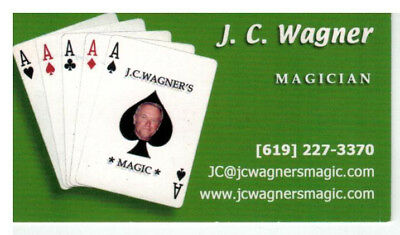 J.C. Wagner Business Card