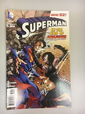 DC Comics - Superman #10 - New 52 - 2012 - BN - Bagged & Boarded