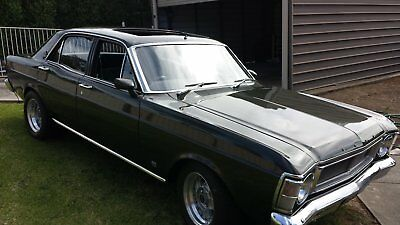 1969 Ford XW Fairmont with Factory wind back Sunroof