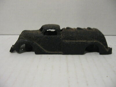 Antique Vintage Cast Iron Toy Gas/Oil Tanker Truck - Metal Detector Find