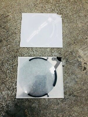 100 New Clear Single Slim CD DVD Eject Button with Insert Door Jewel Case Cases