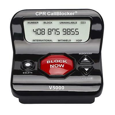 LANDLINE PHONE CALL Blocker  Stop Robocalls,political Calls,up To 6,500  Numbers