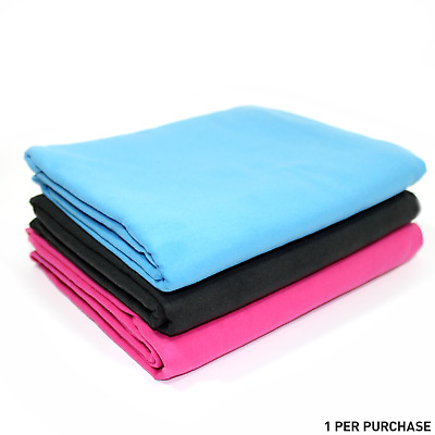 Quick Drying Microfiber Towel. Lightweight Home & Gym M&W