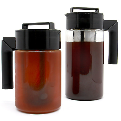 Iced Tea & Coffee Maker | Premium Cold Brew Pitcher Infuser | M&W