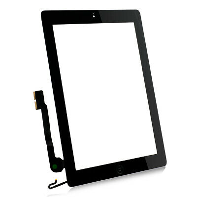 For Apple iPad 4th GEN Touch Screen Glass Digitizer Replacement A1458 1459 A1460