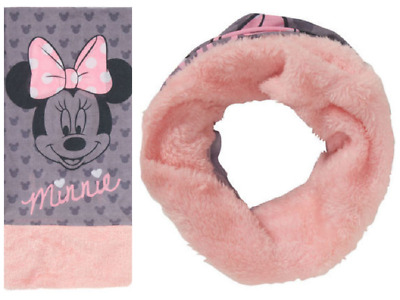 Scaldacollo Multiuso Sciarpa Neck Header Minnie Mouse Topolina Disney Bimba