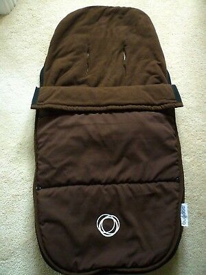 Bugaboo Cameleon Brown Footmuff - Very Good Condition