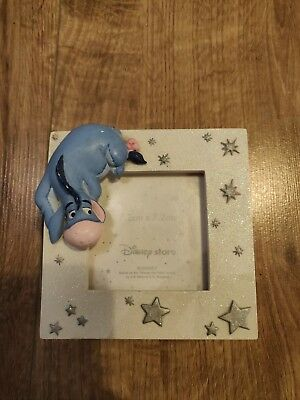 Disney store Photo And Jewelry Box Photo Frame Eeyore From Winnie The Pooh