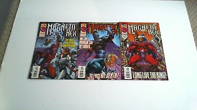 Magneto Rex (1999) #1 2 3 Complete Series Marvel /1386/