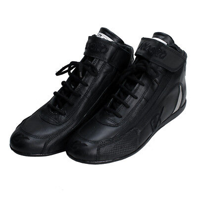 Velocita B03 Safety Driving Racing Shoes SFI Leather / Nomex Black Size 3