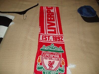 Liverpool Football Club Scarf Mint Condition Official