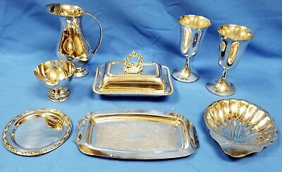 Vintage Oneida - E.P. Cooper - ART S  and other Silver-Plate Misc Pieces