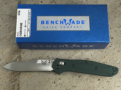 Benchmade 940 Osborne Folding Knives Plain Edge Reverse Tanto Axis S30V NIB