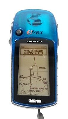 Garmin eTrex Legend Handheld GPS Personal Navigator TESTED Bundle Manuals HGB44