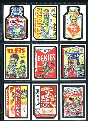 2016 Topps Mars Attacks Occupation Attacky Packages Old School Set of 13 (10+3)
