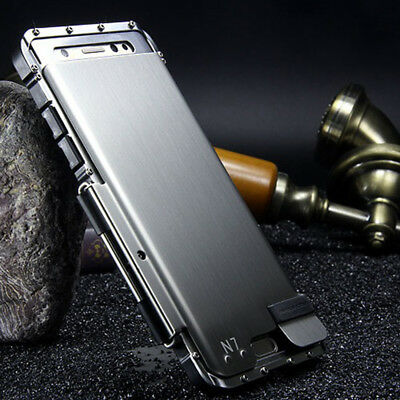 Galaxy Note 9 8 S9 Plus Armor Rugged Aluminum Shockproof Luxury Flip Phone Case
