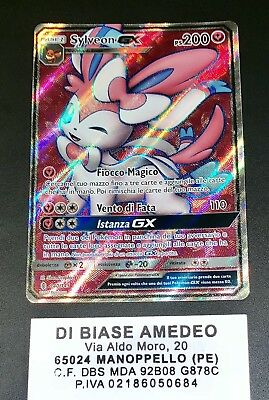 💎pokèmon Sylveon Gx 140/145 Full Art Guardiani Nascenti Italiano Mint!⭐️