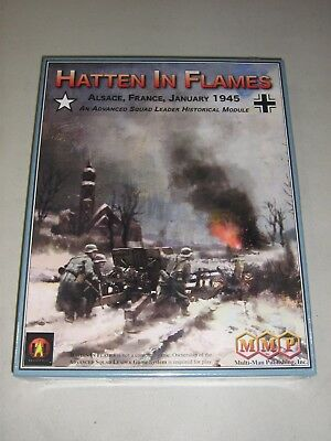 Hatten in Flames: Alsace, France, January 1945 (New)