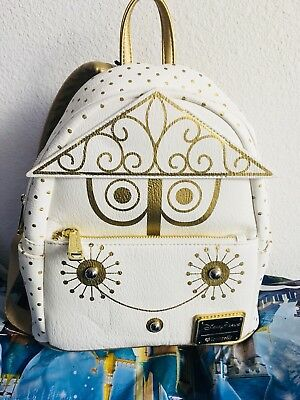 New Disney Parks Loungefly  Its A Small World Bag Disneyland Mini Backpack