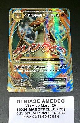💎pokèmon M Charizard Ex 101/108 Full Art Set Evoluzioni Italiano Mint!⭐️