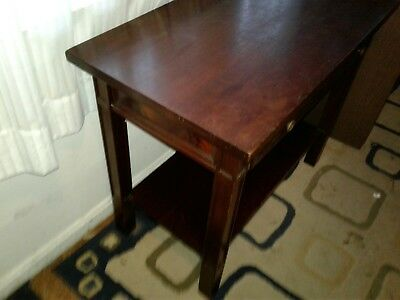 Rare duncan phyffe style Antique library table