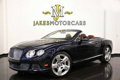 2013 Bentley Continental GT GTC W12 MULLINER ($237,460 MSRP)~ ONLY 3700 MILES!