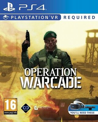 Operation Warcade PS4 VR Spiel *NEU OVP* Playstation 4