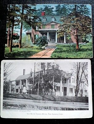 Post Card : New London, Ct., Houses  In New London