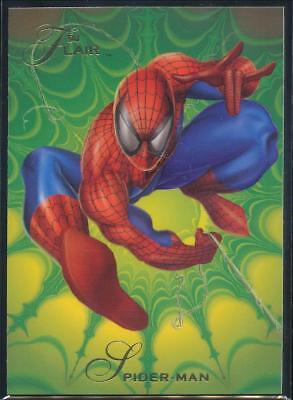 1994 Flair Marvel Annual Trading Card #139 Spider-Man