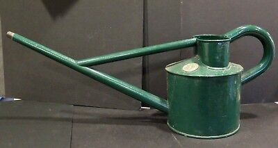 25 INCHES LONG Vintage Haws 1 GALLON METAL Watering Can - Made in England BIGONE