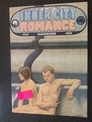Inner City Romance #5 (1978, Last Gasp), by Guy Colwell. Fine+ Condition.