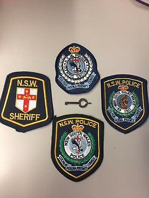 Australia New South Wales Police Set of 4