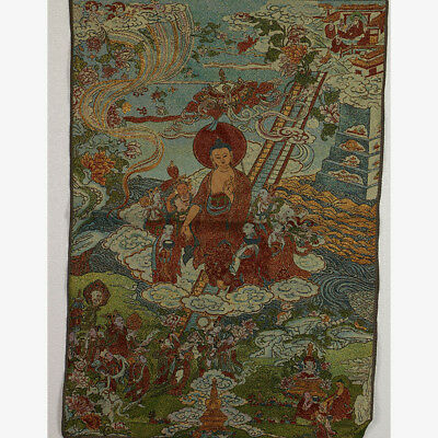 Tibet Collectable Silk Hand Painted  Painting Buddhism Thangka    01