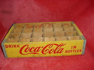 1964 Coca-Cola Wooden Bottle Crate Lexington, TN made in Chattanooga, Tennessee