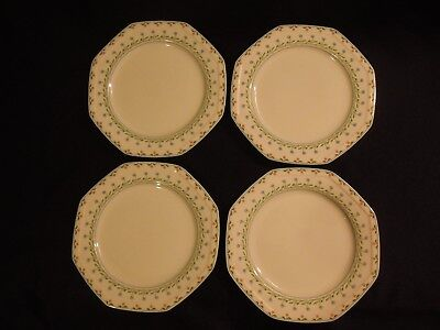 "Set of 4 Christopher Stuart BALI HAI 10 1/4"" Dinner Plates"