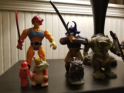 Thundercats Vintage Figures and Vehicle Lot (1985-87)
