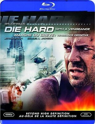 New  Blu Ray - Die Hard 3 - With A Vengeance - Bruce Willis , Samuel Jackson ,
