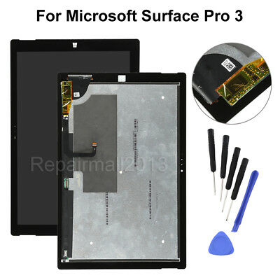 """12"""" Microsoft Surface Pro 3 1631 V1.1 LCD Touch Screen Digitizer Assembly +Tools"""