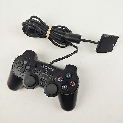 PlayStation 2 Black Analog Controller DuelShock 2 PS2 NEW SCPH-10010 Sony
