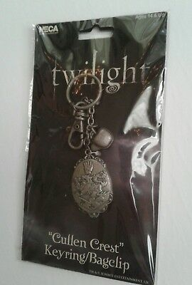 Twilight Saga Cullen Crest Bag Clip Key Ring Keychain New Neca Vampire 2009