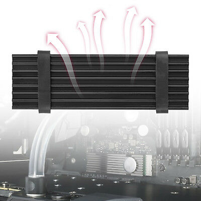 Aluminum Cooling Heat Sink with Thermal Pad for M.2 NGFF NVMe 2280 PCIE SSD