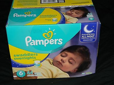 44 pampers swaddiers overnights New