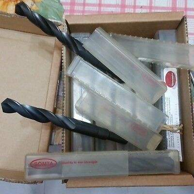 Brand New (lot of 10 pcs) HSS Reduced Shank Drill - inch and mm sizes