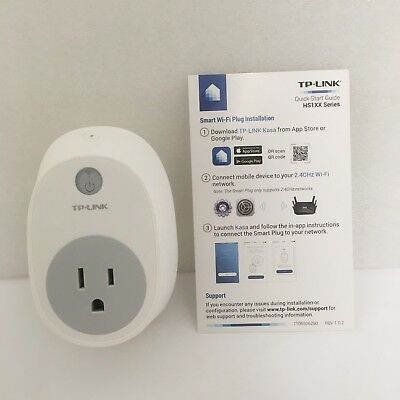 TP-LINK SMART PLUG, No Hub Required, Wi-Fi, Works with