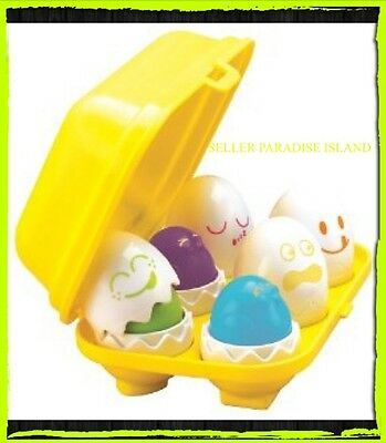Tomy Hide 'n' Squeak Eggs *NEW* FREE P&P BNIB Baby Toddler Toy